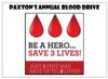 PHS's Annual Blood Drive to be Held October 31, 2017
