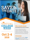 FloridaShines: Helping You Plan Your Future with a Virtual College Week Oct 2-4, 2018